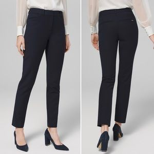 White House Black Market blanc pant 4R